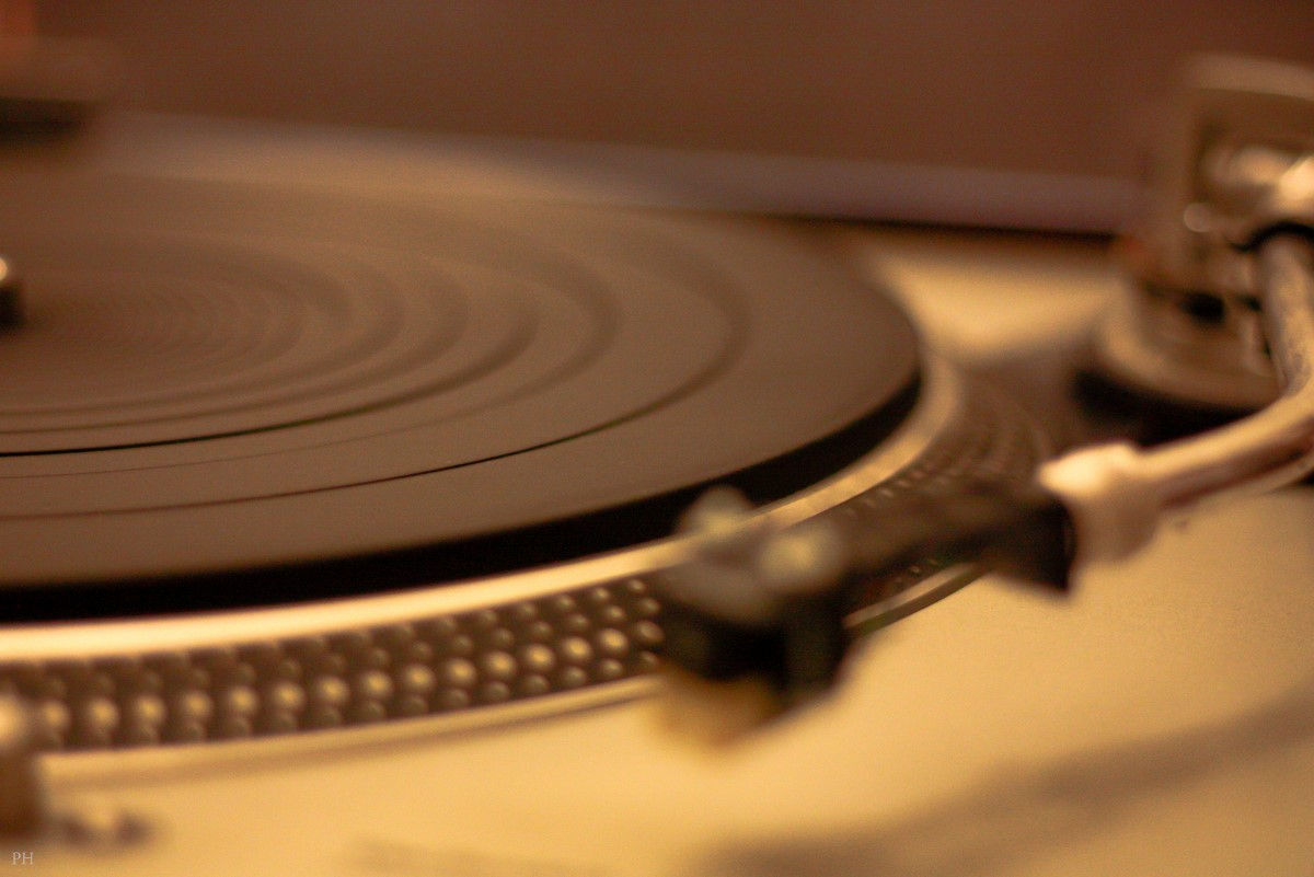Travel and... a turntable