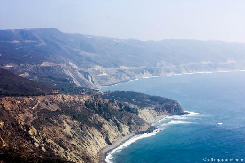 Panoramic views of the Pacific Coast between Tijuana and Ensenada