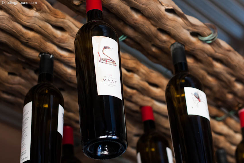 Names of the wines at Tres Valles come from the language of the indigenous Kiliwa people