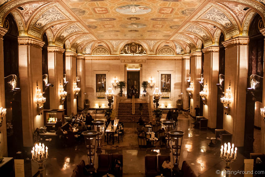Palmer House Lobby Chicago