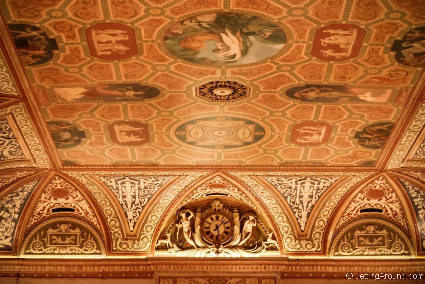 Palmer House Lobby ceiling