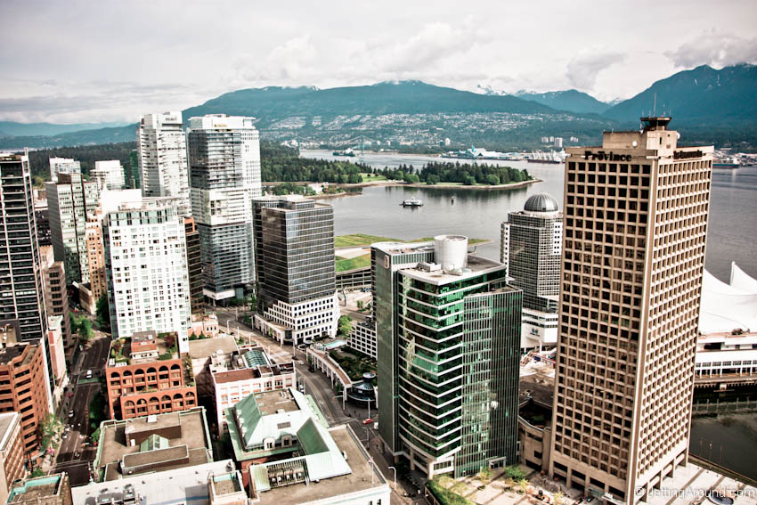 Financial District & Stanley Park in Vancouver