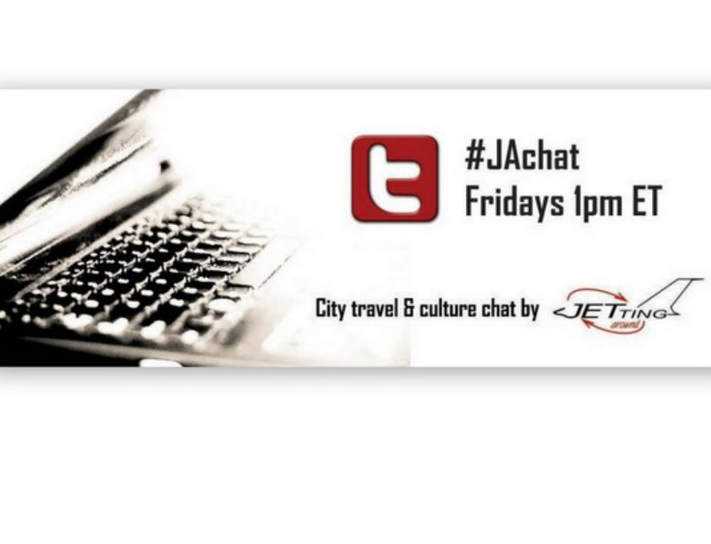 Announcing #JAchat on Twitter