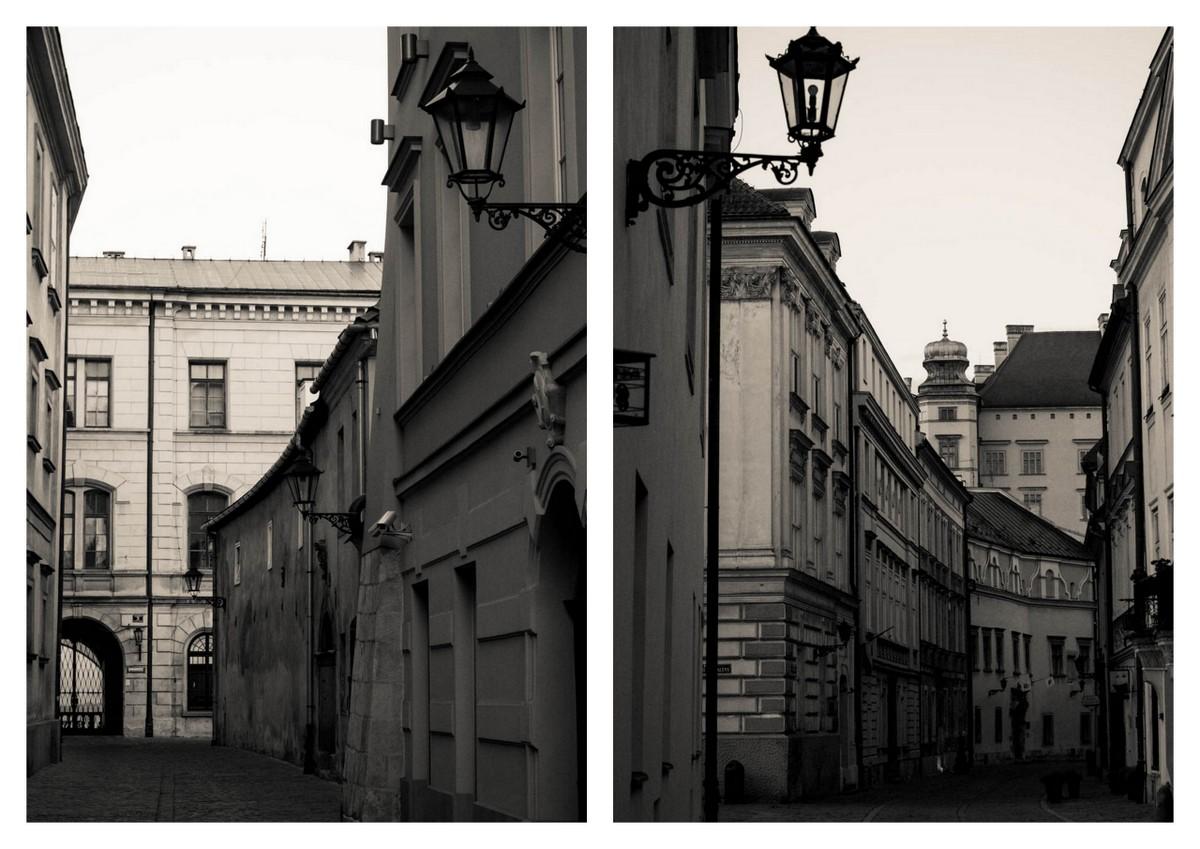 Krakow streets - Senacka & Kanonicza