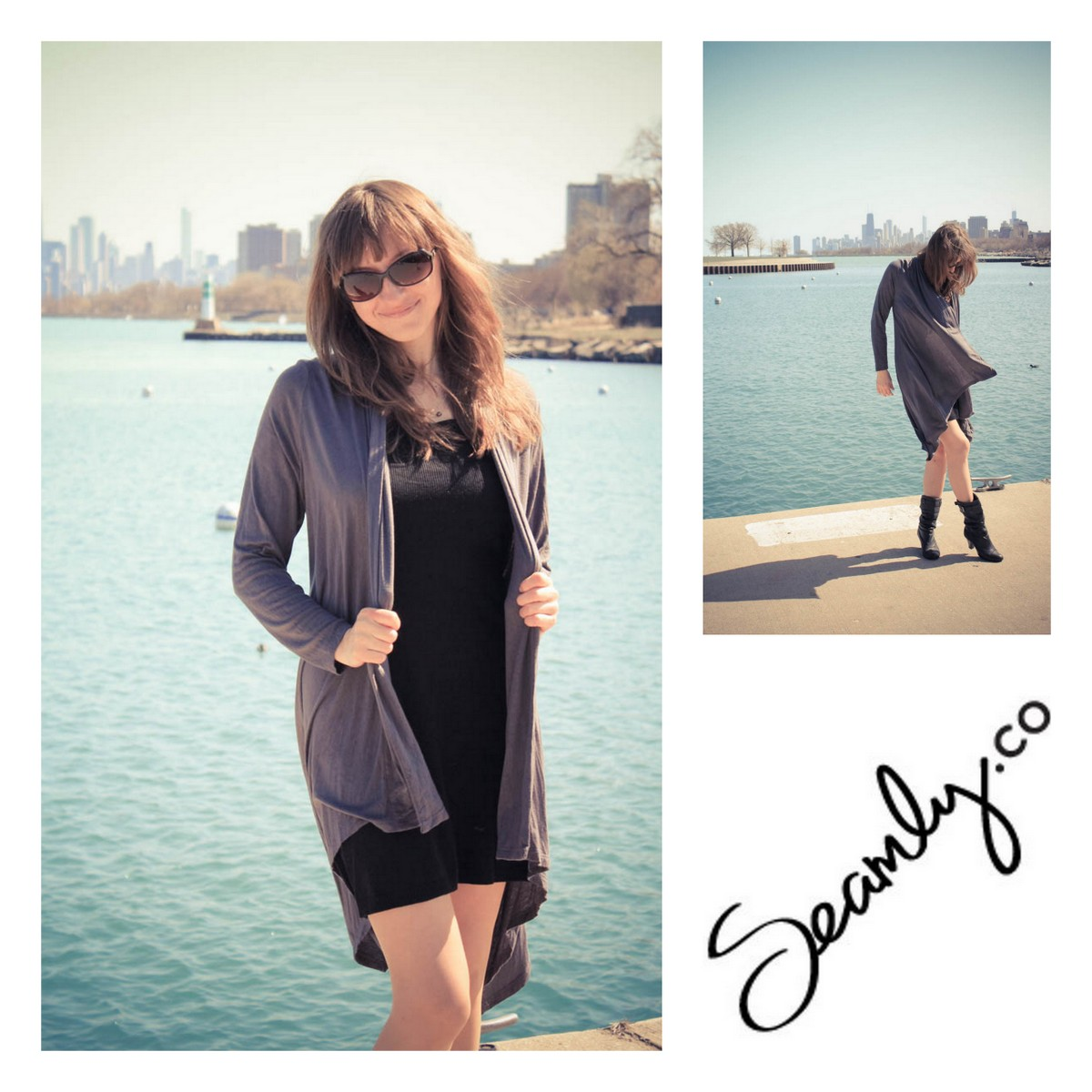 Seamly.co Wrapped Cardigan - Pola Henderson