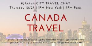 #JAchat on Twitter: Canada Travel