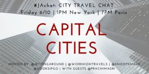#JAchat on Twitter: Capital Cities