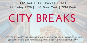 #JAchat on Twitter: City Breaks