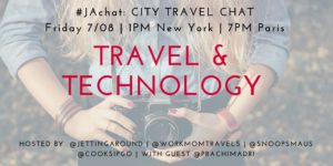 #JAchat on Twitter: Travel & Technology