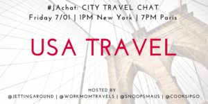 #JAchat on Twitter: USA Travel