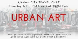 #JAchat on Twitter: Urban Art