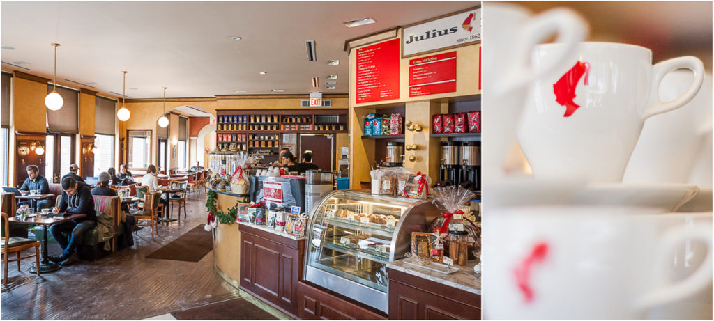 Julius Meinl Coffeehouse, JA Café's Chicago headquarters