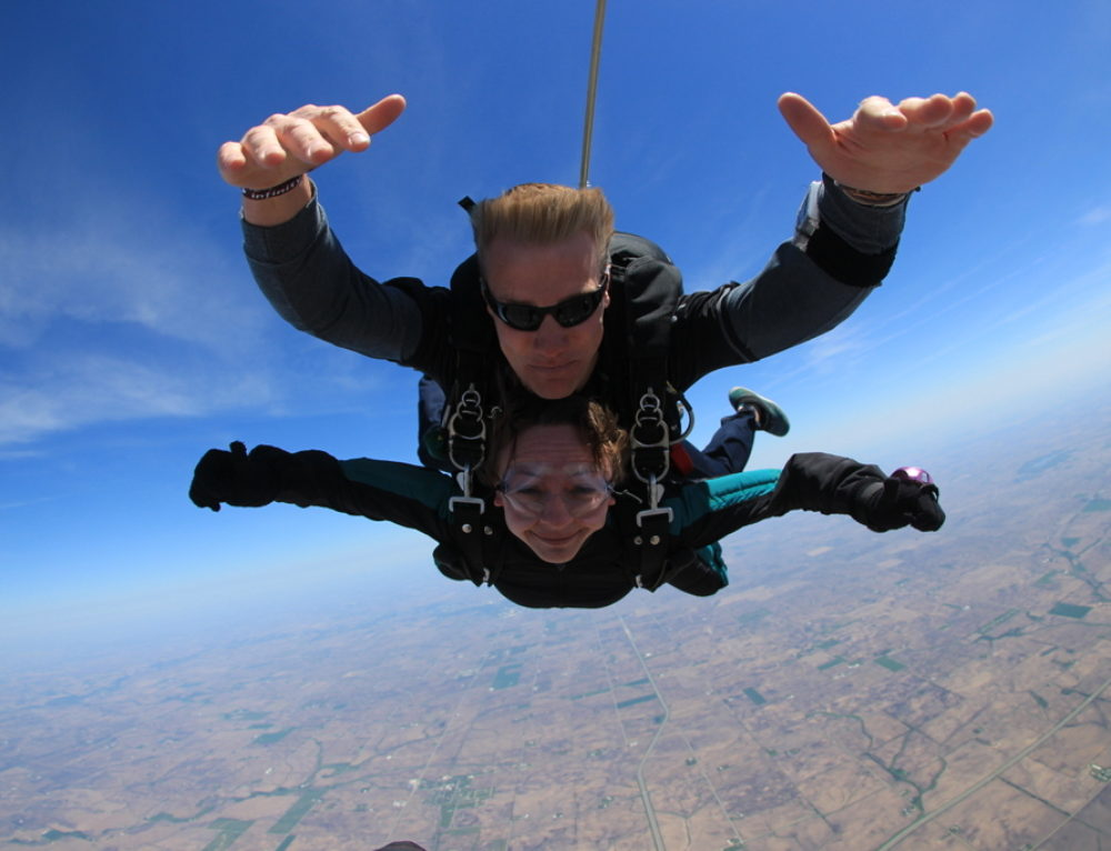 Fun at 14,000 feet:  My first skydiving experience